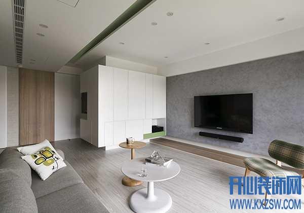 电视墙刷纯色好看吗?客厅的电视墙刷什么颜色漂亮又耐看