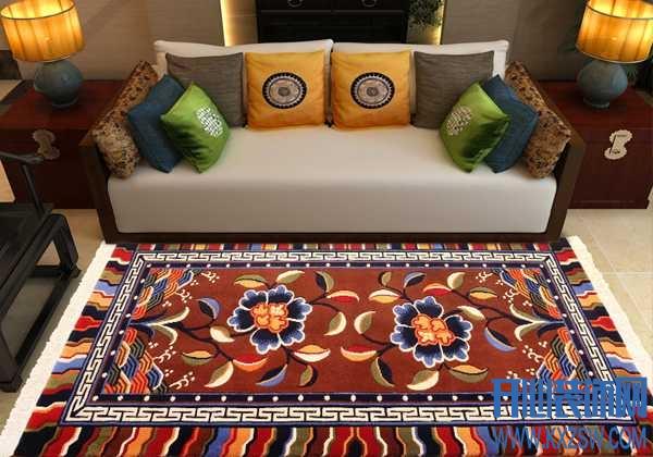 一面西藏地毯设计,满满的藏族情怀扑面而来