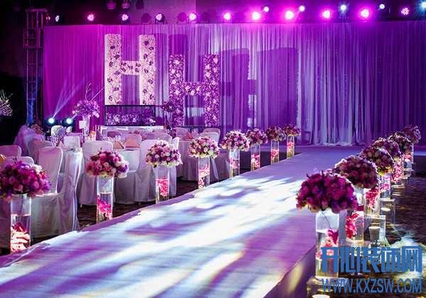 一场浪漫的婚礼现场,自己DIY布置才更有意义