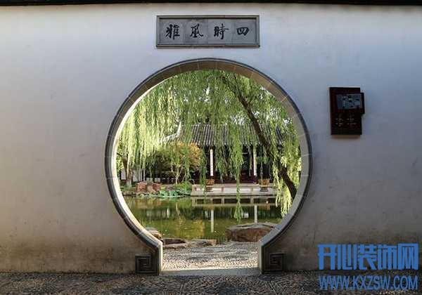 移步换景月洞门,中式装修最吸睛的设计,如何把握尺寸和比例呢