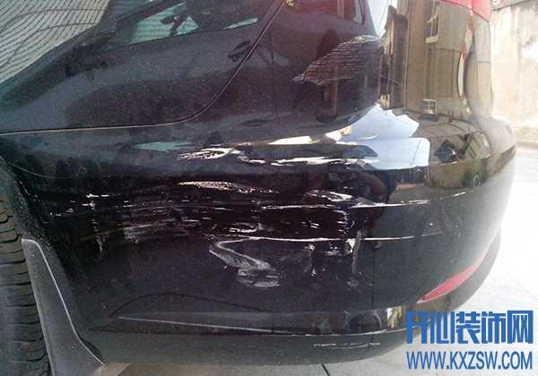 汽车漆面被刮擦了自己能够修复吗?汽车外壳被刮伤的修复方法有哪些?用指甲油可行吗?