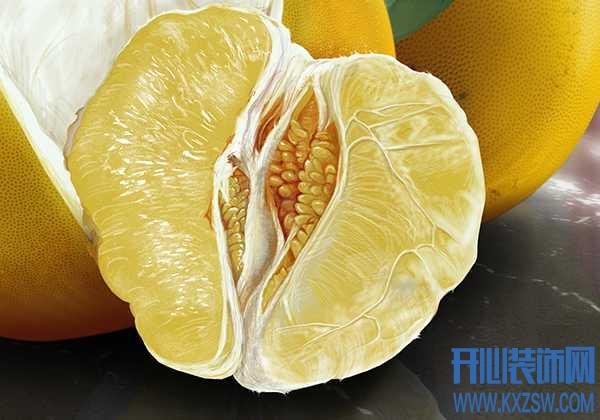 柚子皮实用大揭密,还在傻傻的放冰箱吗?这些妙用也不错哦