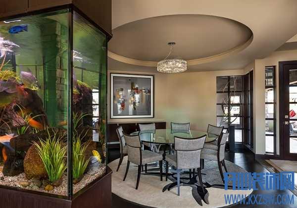 鱼缸不是只能放在柜子上的,这些土豪级的设计让人叹为观止