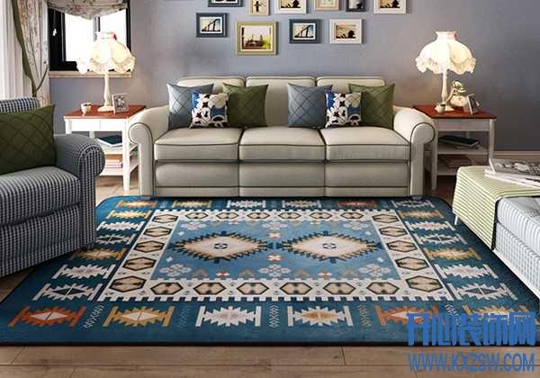 客厅的颜值高不高,全靠地毯美不美,客厅地毯搭配日常