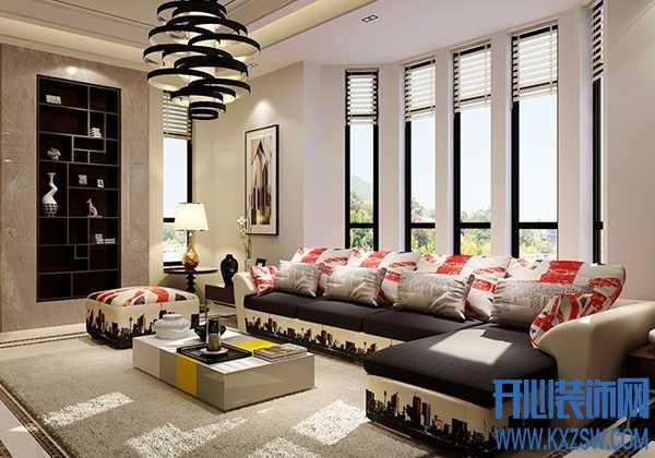 沙发的款式介绍,L型沙发、U型沙发等形状选择