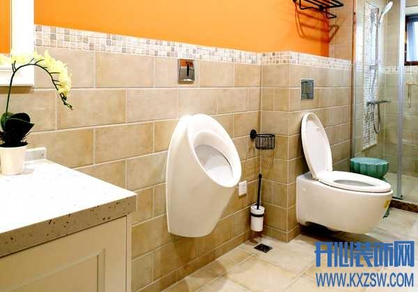 选择壁挂式马桶,卫生间将与精致完美融合