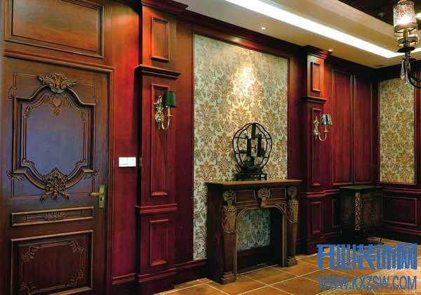 墙面也是需要保护的,护墙板施工工艺让背景墙赢得美名