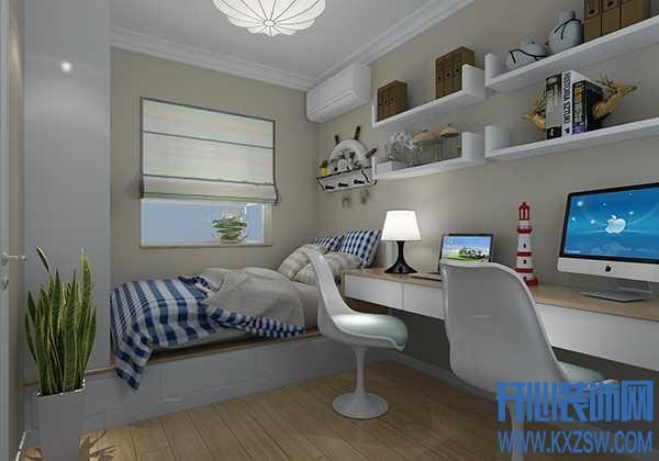 卧室太小怎么办?新买的小二居,房间面积小,如何设计最好