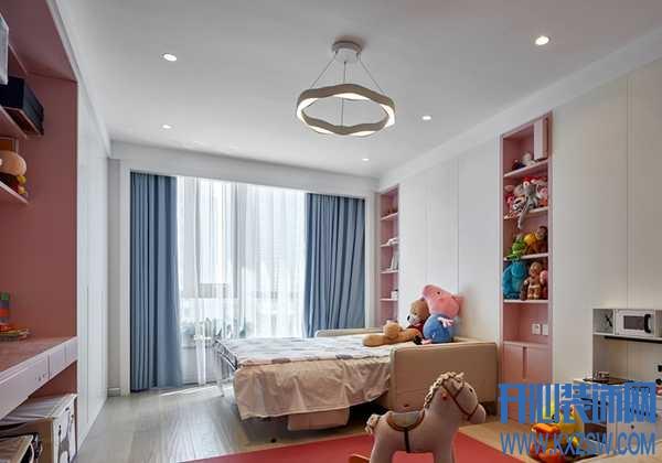 儿童房间用什么颜色搭配?不同风格的儿童房设计案例分享
