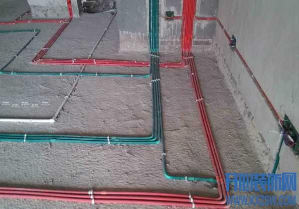 电线为什么有不同的颜色?家里装修地面线和墙壁埋线开槽走向怎么做