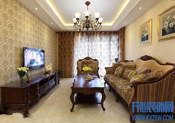 美式家具搭配什么墙纸好看?美式家具搭配法则与技巧