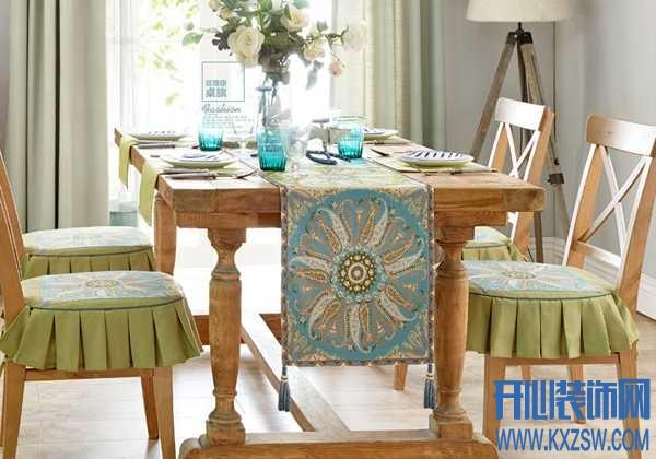 餐桌桌旗存在的意义在哪?或许你看过就知道