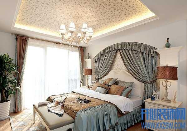 卧室不够浪漫?那是你还没有配上床幔设计