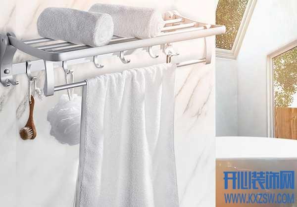 卫浴挂架怎么安装?卫生间置物架安装步骤详情