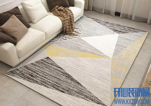 提升客厅颜值,还需要靠地毯来帮忙,新房客厅如何挑选地毯装饰呢?