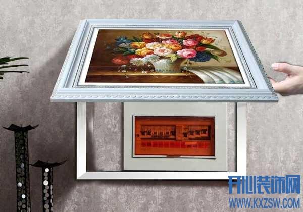 电箱装饰画怎么安装,配电箱装饰画的安装方式