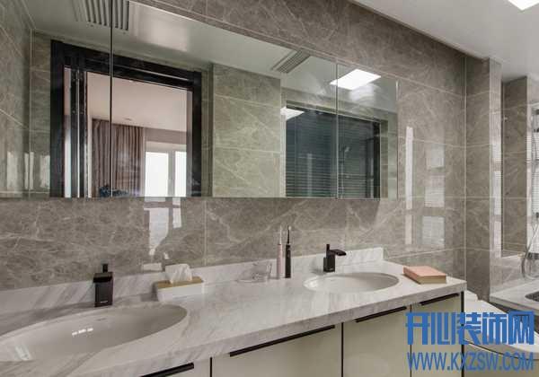 家里的洗手台尺寸大小怎么选?水池台面用大理石材料好不好