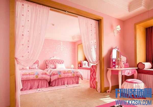 睡在童话城堡里,解析公主房中的软装设计