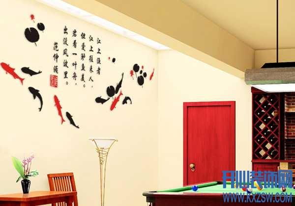 墙壁装饰物之立体墙贴怎么样