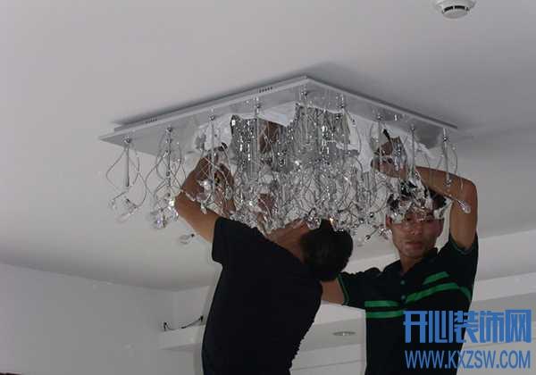 吊灯安装高度有标准,切勿随意安装吊灯