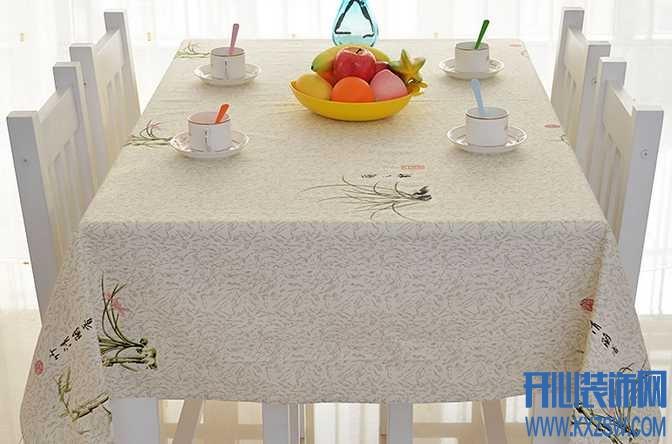餐桌布的款式色彩应用,餐厅风格大变样之餐桌布的华丽变身
