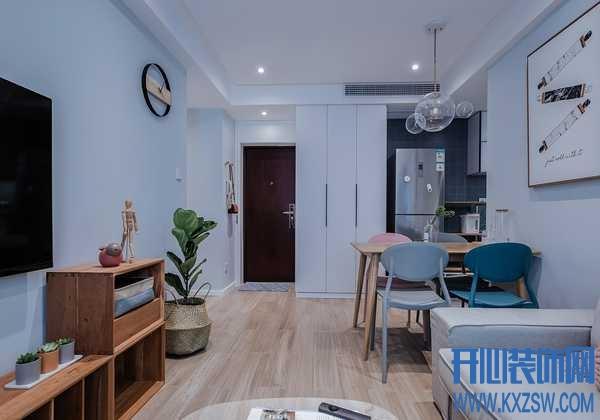 小户型客厅如何摆放家具?客厅与餐厅、书房连在一起如何设计