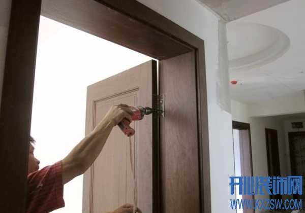 木门测量安装的注意事项,木工教你如何安装房门