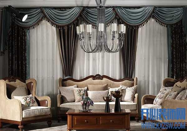 窗帘怎么搭配好?法式客厅窗帘的搭配攻略