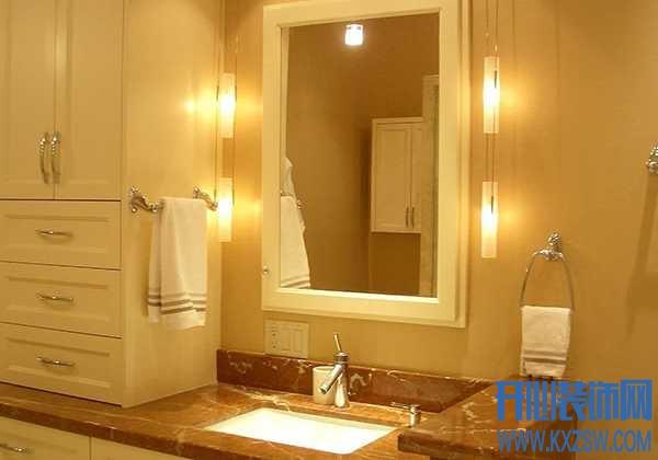 镜前灯和镜子的比例一般是多少?镜前灯安装高度是多少