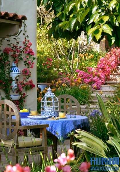 庭院茶话会少不了这几样东西,像是爱丽丝仙境一般唯美不可思议