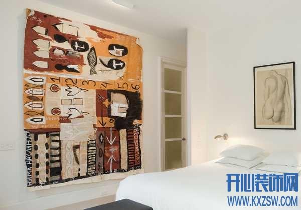 挂毯装饰的内墙,装的一手好腔调
