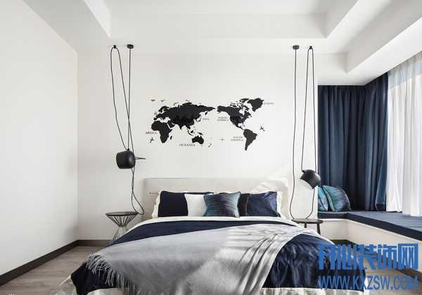 白墙适合加什么装饰?家里的大白墙怎么设计不枯燥