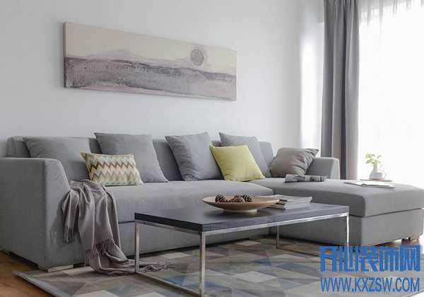 客厅走的是北欧风格,选什么色的抱枕和地毯?北欧风软饰特点分析
