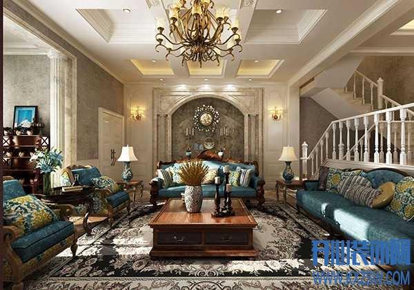 家里选了偏深色的美式家具,那么深色家具配什么颜色的灯呢?
