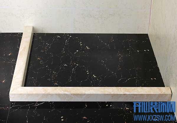 实现浴室的干湿分离,必须做好淋浴房的挡水条安装