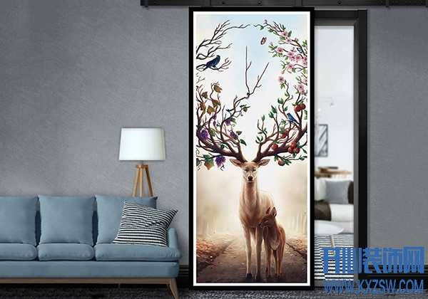 """生活中的装修有""""门""""道,看那些彩色门如何成就质感家居"""