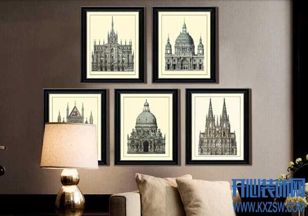 简一画廊的装饰画适合搭配哪些家装风格类型