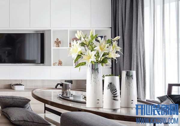 温婉的生活,还需要增添一只白色花瓶来搭配才好