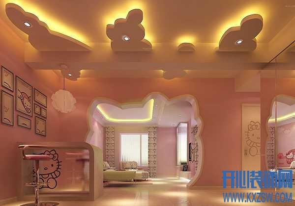 以HelloKitty为主题布置出来的单身公寓,空气中都是甜甜的味道