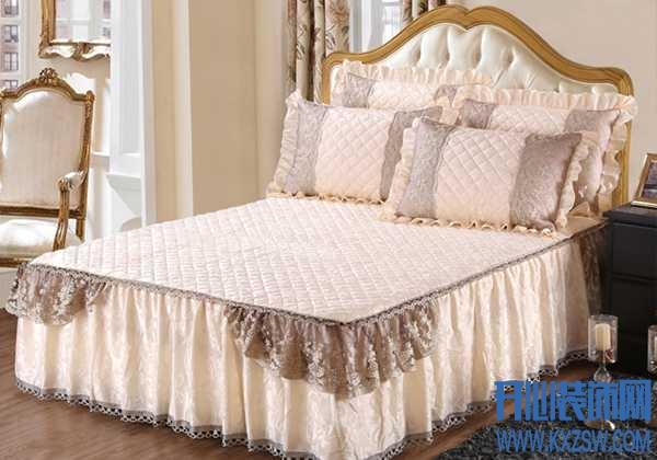 卧室不够温馨?那是你还没有加上床盖的布置