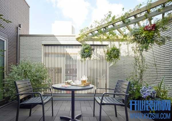 朋友家2个阳台的设计如何做?一个颜值担当,一个容纳生活琐碎