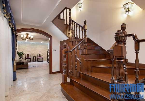 拾阶而上的情趣,实木楼梯安装以自然滋养生活