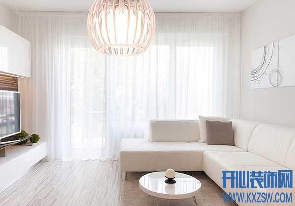 点缀梦想的纱帘装饰,简空间的纱帘装饰效果