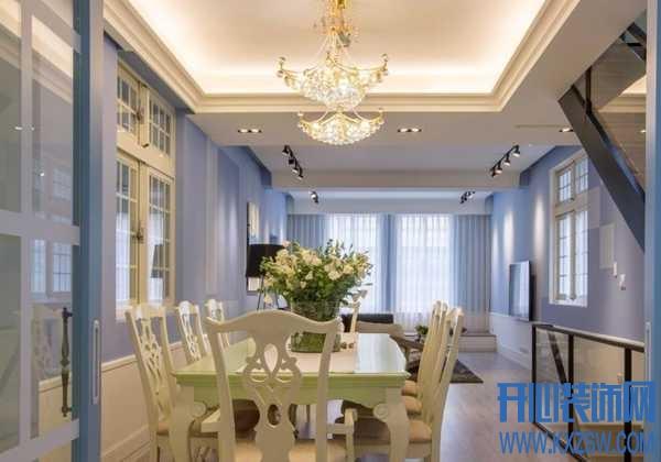 制造家庭小餐厅的温馨感,一定少不了优秀的灯光布置