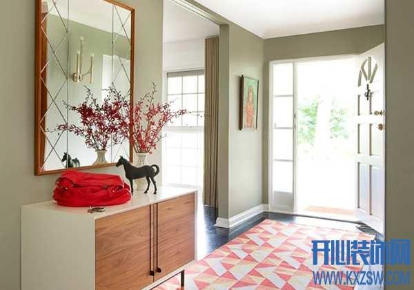 玄关处,让人最值得期待的地毯该是什么样的?