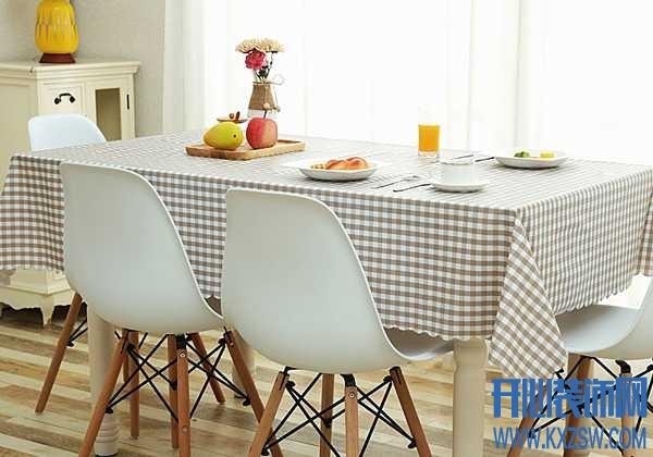 用了一块餐桌布,轻松改善家庭气氛,老公连连称赞