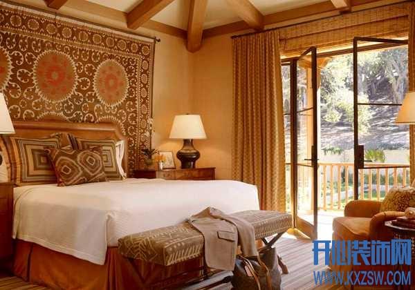 毯子上墙是怎样的一种体验,朋友家里的挂毯美爆了整个朋友圈