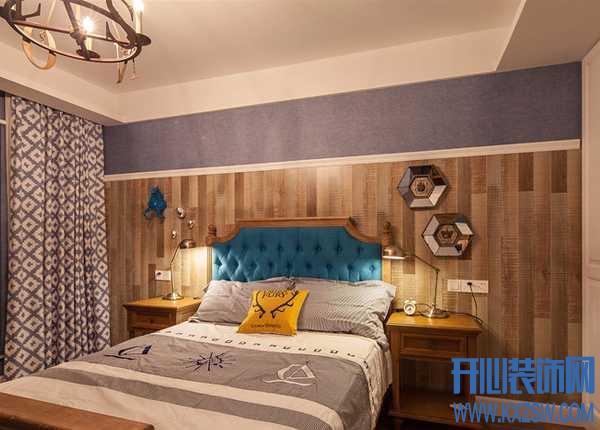 美式乡村卧室背景墙的设计手法,美式背景墙装修案例大赏