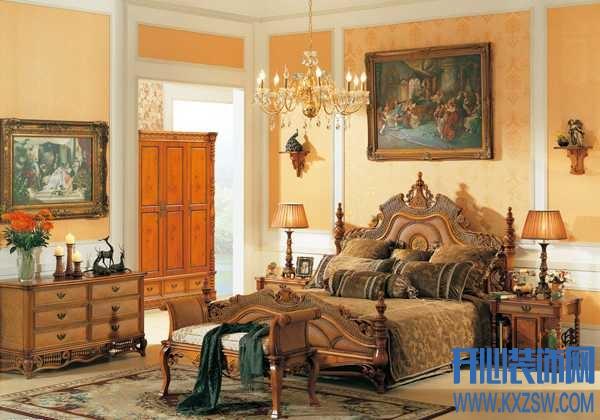 美不胜收的法式风格卧室效果图赏析,看如何再现奢华法式风