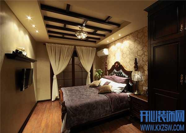 质朴纯情的美式卧房设计,展现独特的美式乡村风味